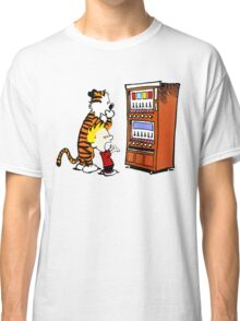 Calvin Hobbes Vending Machine Classic T-Shirt