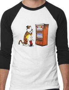 Calvin Hobbes Vending Machine Men's Baseball ¾ T-Shirt