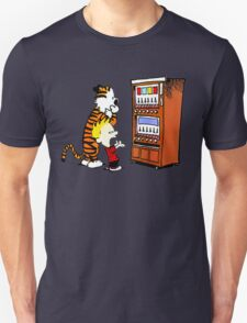 Calvin Hobbes Vending Machine T-Shirt