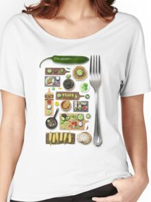 Mexican Food Women's Relaxed Fit T-Shirt
