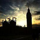 London - Big Ben 2 by PickleWarrior