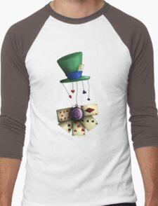 Madness is bliss  Men's Baseball ¾ T-Shirt