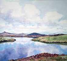 """Still Waters"" North Uist Scotland by Joyce Grubb"