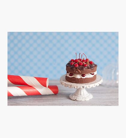 Black Forest Cake Photographic Print