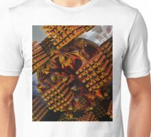 ©TAIMITIDESIGNS - * CARVED SPHERE INTO CUBES* Unisex T-Shirt