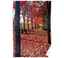 Autumn in Brooklyn, Connecticut Poster