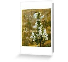 Dream! Greeting Card