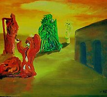 In Honor of Dali' ,de Chirco, Yves Tanguy by Timothy Gunnison