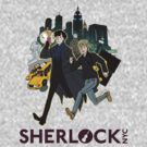 Sherlock NYC - Day (Purple Logo) by SherlockNYC