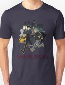 Sherlock NYC - Day (Purple Logo) T-Shirt