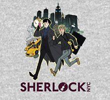 Sherlock NYC - Day (Purple Logo) Unisex T-Shirt