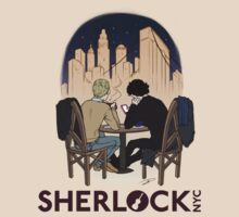 Sherlock NYC - Night (Purple Logo) by SherlockNYC