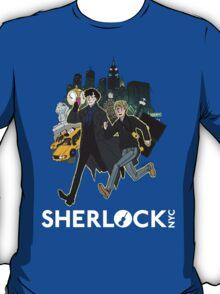 Sherlock NYC - Day (White Logo) T-Shirt