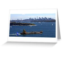 North Head Manly - coming in Greeting Card