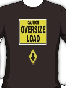 Over- size load T-Shirt