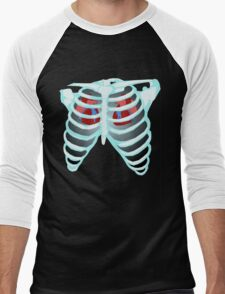 Timelord X-Ray Men's Baseball ¾ T-Shirt