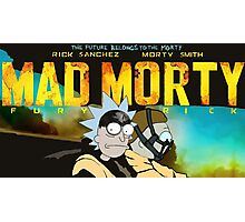 Rick and Morty - MAD MORTY!!! Photographic Print