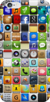 iPhone Cover - Icons by Ommik