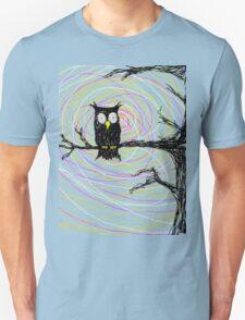 Halloween Night Owl Unisex T-Shirt