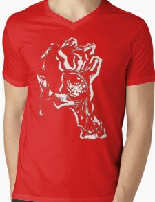 handed zombies Mens V-Neck T-Shirt