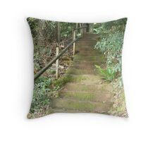 Bush Stairway Throw Pillow