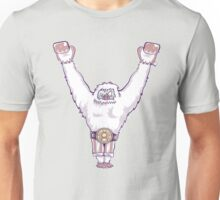 Y is for 'Ya Did It' Yeti Unisex T-Shirt