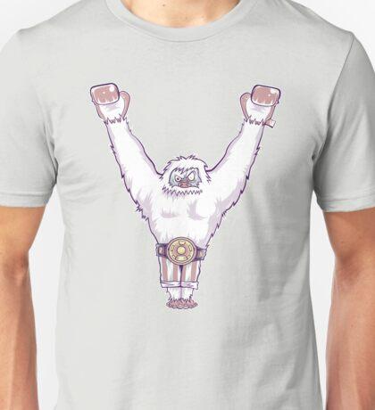 Y is for 'Ya Did It' Yeti Unisex T-Shirt