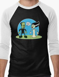 Frankenstein: We Belong Dead Men's Baseball ¾ T-Shirt