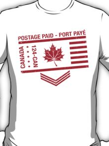 Postage Paid Canada T-Shirt