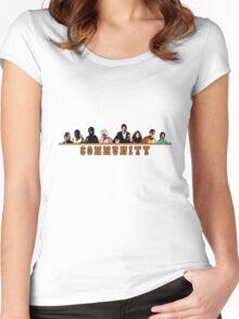 Greendale Halloween (Season 2) - Community  Women's Fitted Scoop T-Shirt