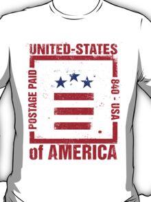 Postage Paid USA T-Shirt