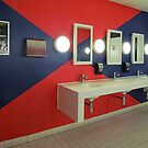 Washroom Blues…and Reds by Ian Ker