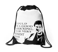 I could use a good ass kicking Drawstring Bag