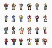 A History of Megazords Kids Clothes
