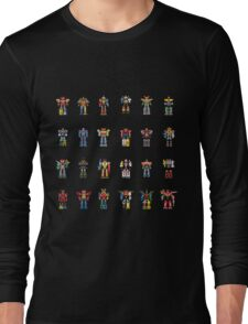 A History of Megazords Long Sleeve T-Shirt