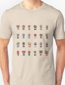 A History of Megazords T-Shirt