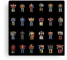A History of Megazords Canvas Print