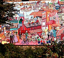 Annapolis Mural by phil decocco