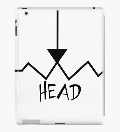 "Potentiometer ""Pot"" Head iPad Case/Skin"