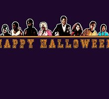 Greendale Halloween (Season 2) - Happy Halloween by oncenfuturekiki
