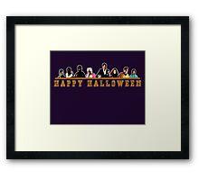 Greendale Halloween (Season 2) - Happy Halloween Framed Print