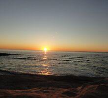 Sinking Sun by kashmirecho