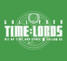 Gallifrey Time Lords One Piece - Short Sleeve
