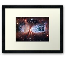 Space Angel - Merry Christmas from Hubble Framed Print