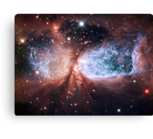 Space Angel - Merry Christmas from Hubble Canvas Print