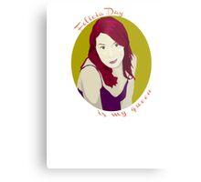 Felicia Day is My Queen Metal Print