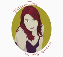 Felicia Day is My Queen by maephly