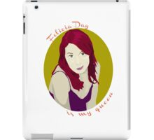 Felicia Day is My Queen iPad Case/Skin