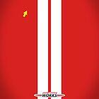 Mini Cooper Strips - Chili Red by mrmini