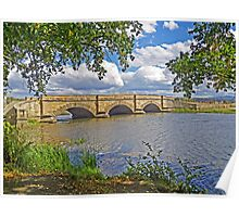 Ross Bridge from the East Bank Poster